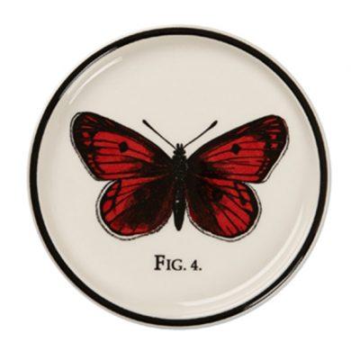 Edward Challinor Butterfly Coaster by Royal Stafford