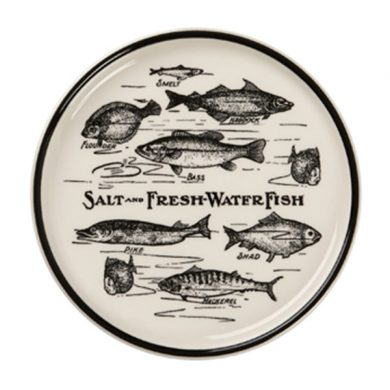 Edward Challinor fish Coaster by Royal Stafford