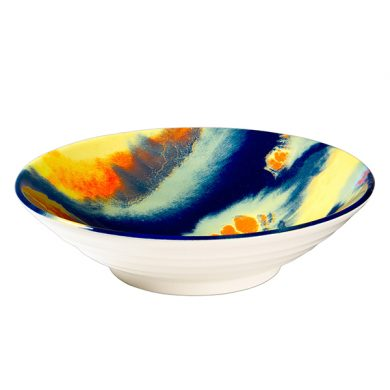 Royal Stafford 24cm Footed bowl - Deep Space