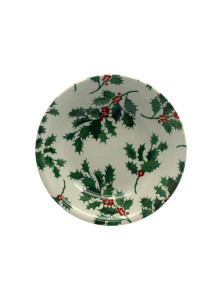 Christmas Holly cereal bowl