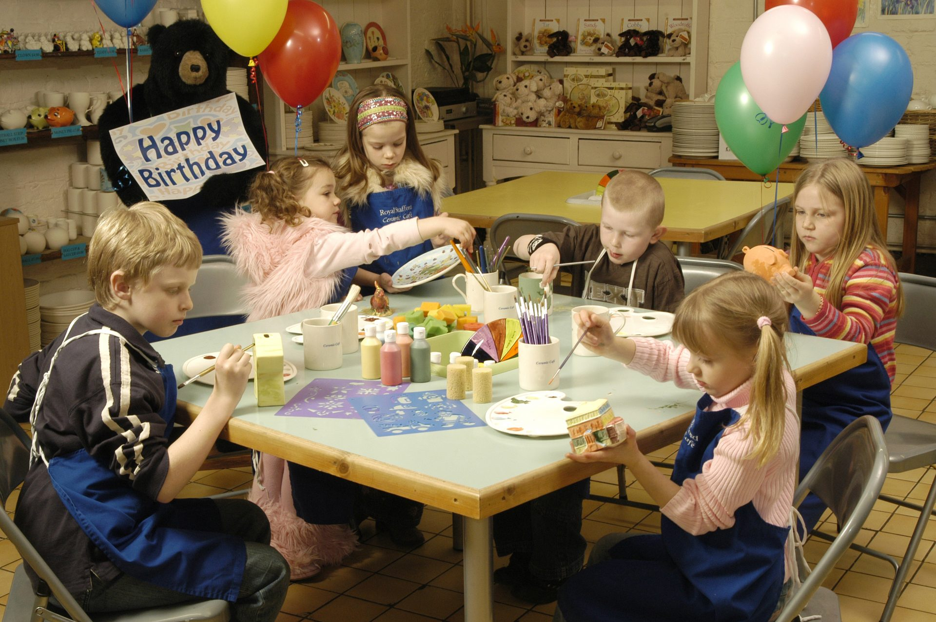 Birthday Parties – Factory Shop