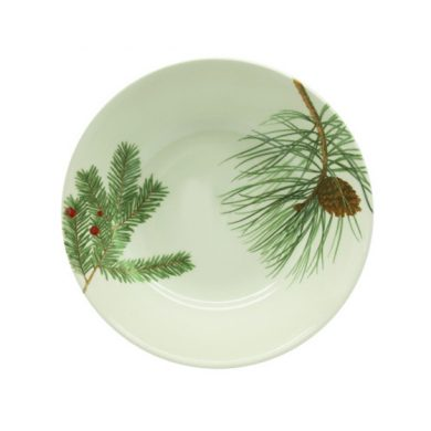 Winter branch cereal bowl