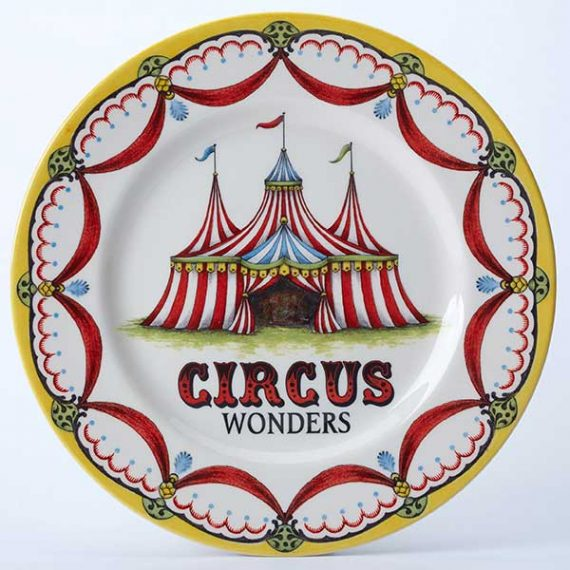 Circus Collection Dinner Plate