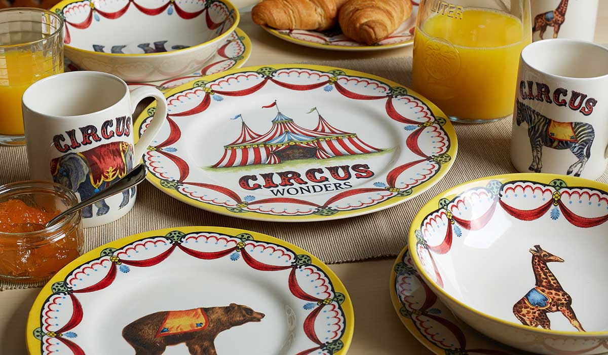 The Royal Stafford circus collection.