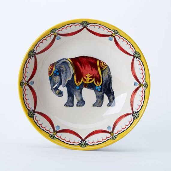 Circus Elephant cereal bowl, part of the Royal Stafford Circus Collection