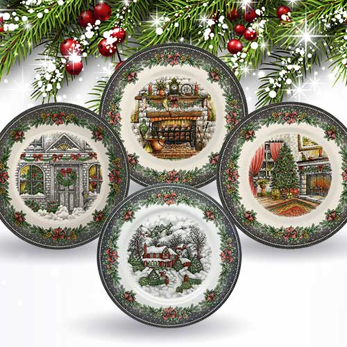 Royal Stafford Christmas plates