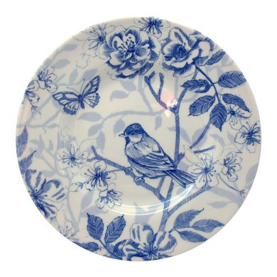 Bluebird Toile 18cm plate by Royal Stafford