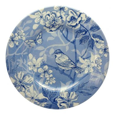 Bluebird Toile 21cm salad plate by Royal Stafford