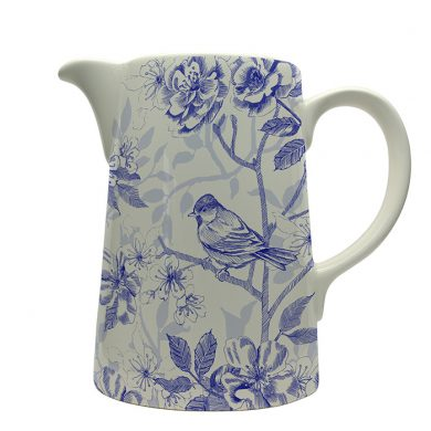 Bluebird Toile jug by Royal Stafford