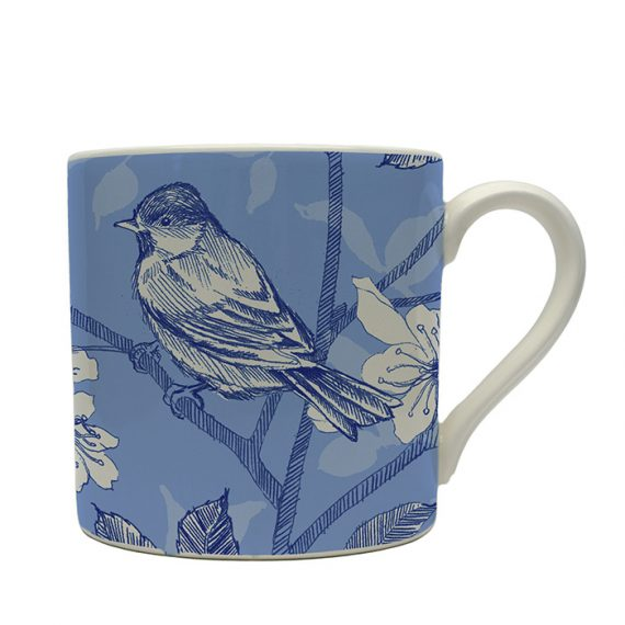 Bluebird Toile Mug by Royal Stafford