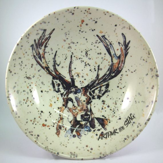 Royal Stafford Eddie Kagimu Arthur the Stag Cereal Bowl 19cm