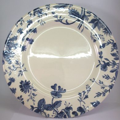 Royal Stafford Floral Weave Blue Dinner Plate