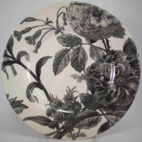 Royal Stafford Floral Weave Grey 21cm Side Plate