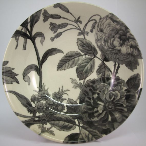Royal Stafford Floral Weave grey 19cm cereal bowl