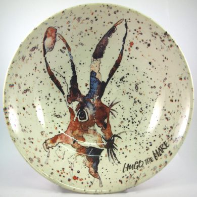 Royal Stafford Eddie Kagimu Hugo the Hare Cereal Bowl 19cm