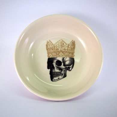 Royal Stafford King Skull Dip Bowl