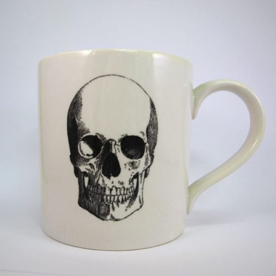 Royal Stafford Skull Mug