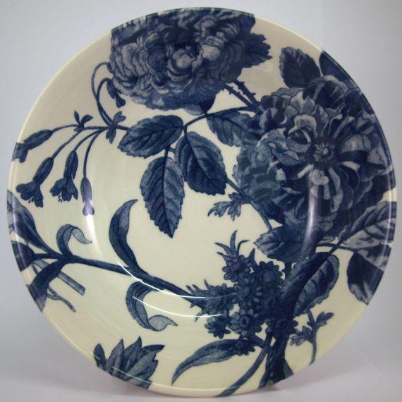 Royal Stafford Floral Weave blue 19cm cereal bowl