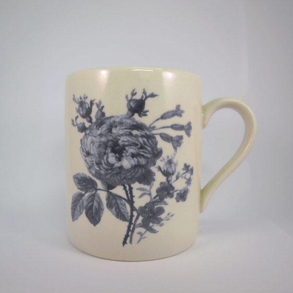 Royal Stafford Floral Weave Grey Mug