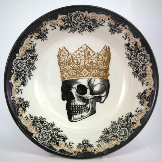 Royal Stafford 19cm King Skull Cereal Bowl