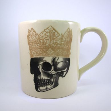 Royal Stafford King Skull Mug