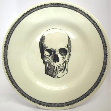 Royal Stafford 21cm Skull Side Plate