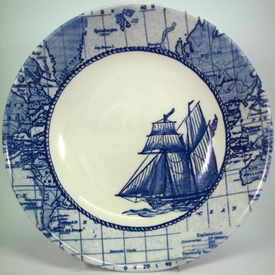 Royal Stafford Sailing Ship 21cm Cereal Bowl
