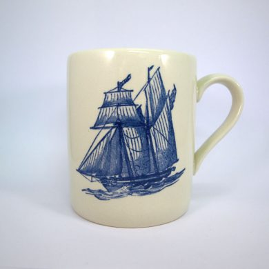 Royal Stafford Sailing Ship Mug