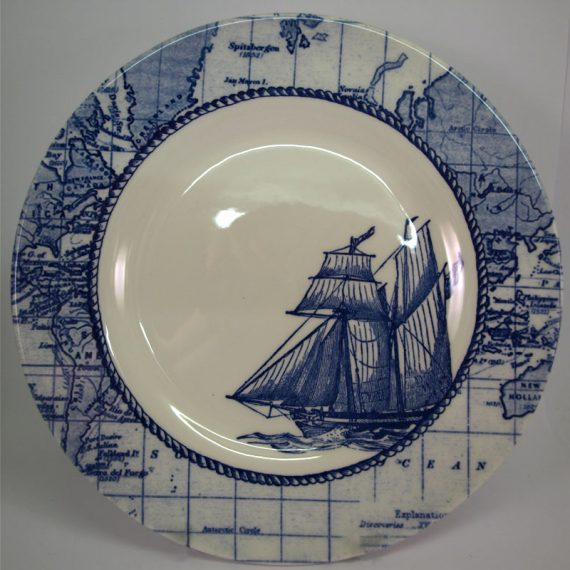 Royal Stafford Sailing Ship 21cm Side Plate