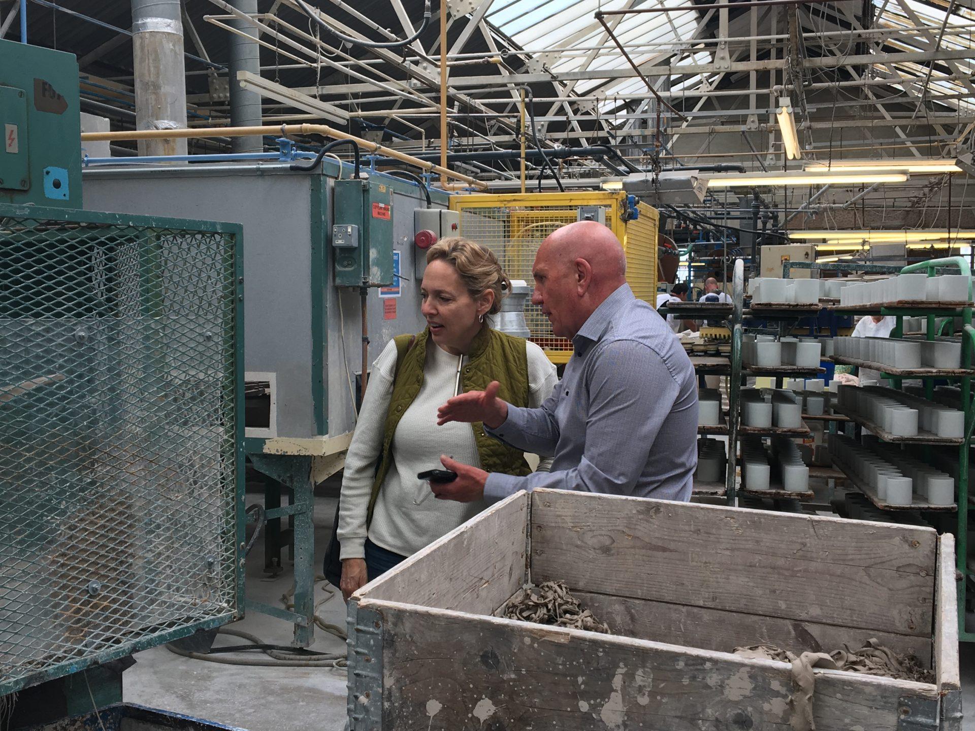 A Visit from Professor Rebecca Harvey