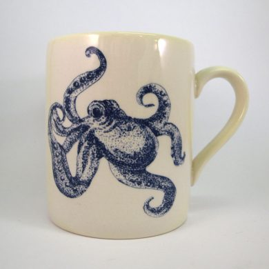 Royal Stafford Ocean Blue Octopus Mug