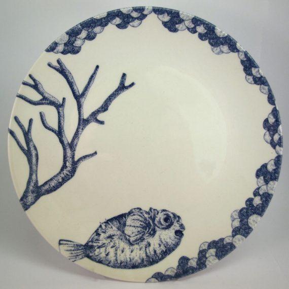 Royal Stafford Ocean Blue Side Plate 21cm