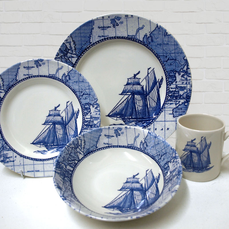 Sailing Ship collection by Royal Stafford.
