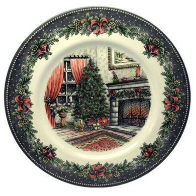 Royal Stafford Christmas Morning Dinner Plate 28cm