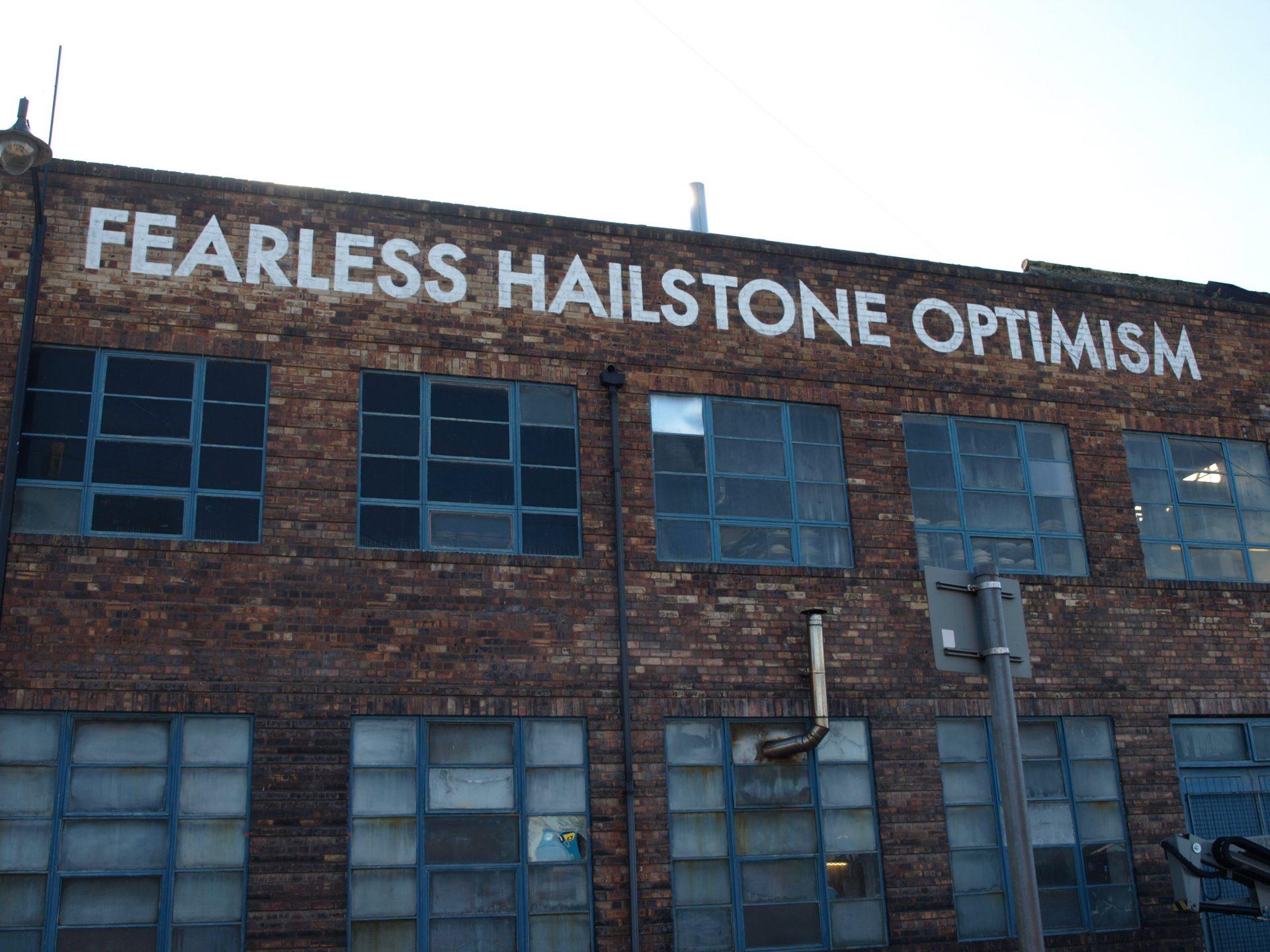 Fearless Hailstone Optimism