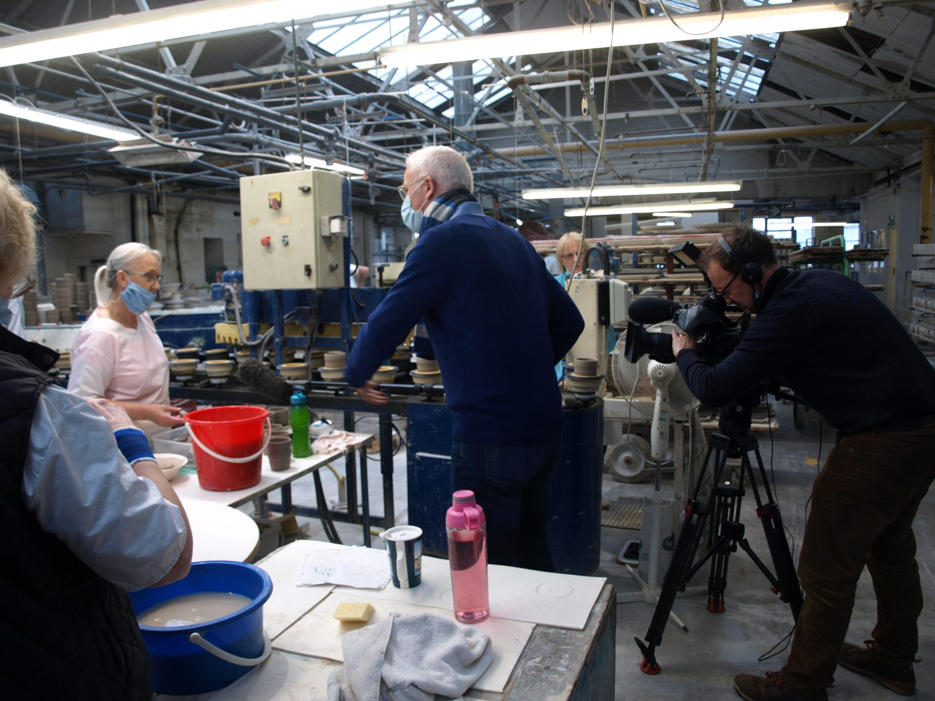 Sky News comes to Royal Stafford